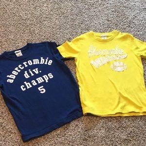 2 Abercrombie Tshirts